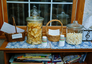 Piano Lesson Snack Station